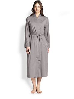 Cottonista - Supima Cotton Wrap Robe