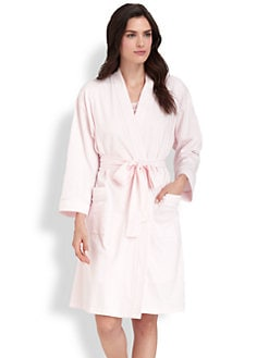 Cottonista - Luxe Interlock Wrap Robe