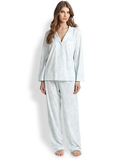 Cottonista - Floral Supima Cotton Pajamas