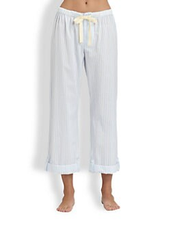 Cottonista - Cotton Baptiste Striped Pants