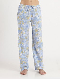 Cottonista - Patterned Cotton Pants