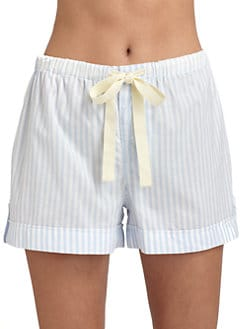 Cottonista - Striped Cotton Jersey Shorts