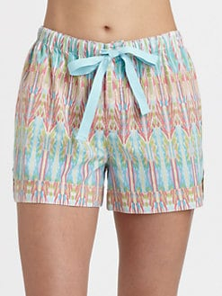 Cottonista - Botton Batiste Woven Shorts