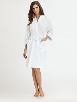 Cottonista - Pima Cotton Short Robe