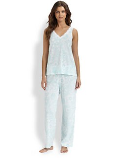 Cottonista - Print Cotton Jersey Pajamas