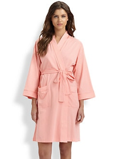 Cottonista - Pima Cotton Jersey Robe