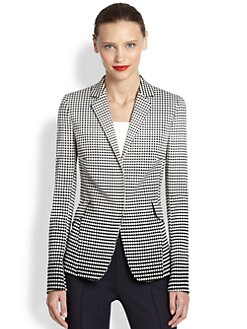 Akris Punto - Degrade Stretch Cotton Jacket