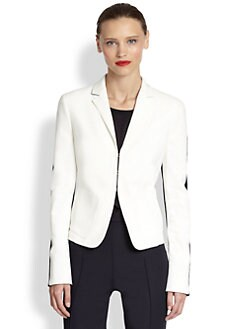 Akris Punto - Two-Tone Techno Cotton Jacket