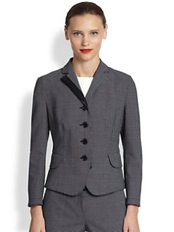 Akris Punto - Pindot Four-Button Jacket