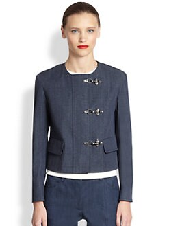 Akris Punto - Cropped Denim Jacket