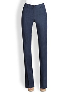Akris Punto - Denim Faye Bootleg Pants
