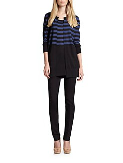 Akris Punto - Wool Striped Cardigan