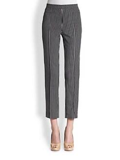 Akris Punto - Striped Techno Franca Pants