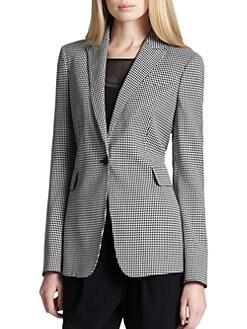 Akris Punto - Printed Single-Button Blazer