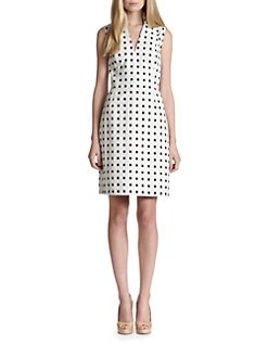 Akris Punto - Tile-Print Dress
