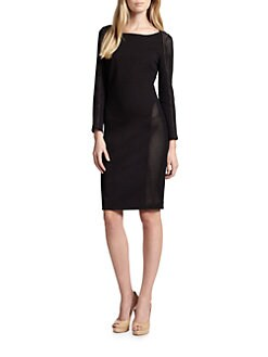 Akris Punto - Jersey & Mesh Dress