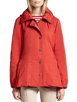Akris Punto - Peplum Rain Jacket