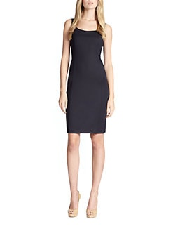 Akris Punto - Techno Mesh-Back Sleeveless Dress