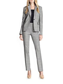 Akris Punto - Mini Houndstooth Wool Blazer