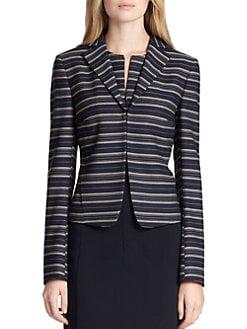 Akris Punto - Wool Multi-Stripe Jacket