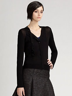 Akris Punto - Sequined Tie Cardigan