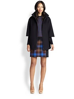 Akris Punto - Oversized Three-Quarter Sleeve Coat