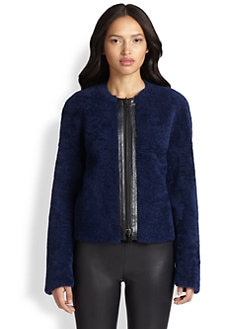 Akris Punto - Reversible Shearling Jacket