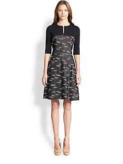 Akris Punto - Jersey & Jacquard Dress