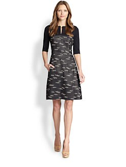 Akris Punto - Jersey & Jacquard Dress