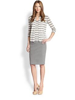 Akris Punto - Striped Knit Cardigan