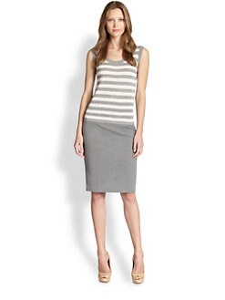Akris Punto - Striped Knit Shell