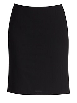 Akris Punto - Essentials Godet Wool Pencil Skirt