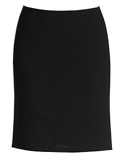 Akris Punto - Godet Wool Pencil Skirt