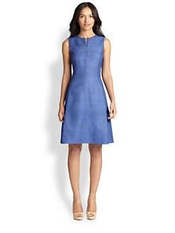 Akris Punto - Silk A-Line Dress