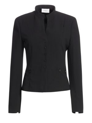 Elements Wool Zipper-Detail Jacket