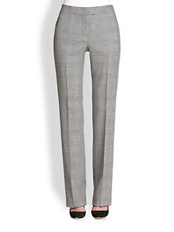 Akris Punto - Houndstooth Wool Faubourg Pants