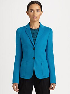 Akris Punto - Wool & Angora Blazer