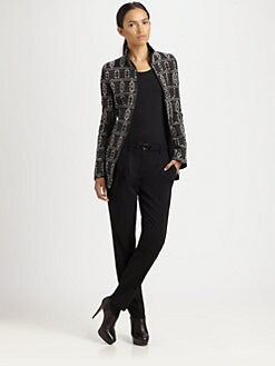 Akris Punto - Wool-Blend Tribal Jacquard Jacket