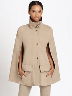 Akris Punto - Funnel-Collar Cape