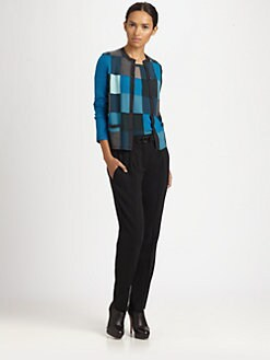 Akris Punto - Wool Patchwork Cardigan