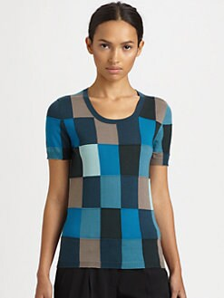 Akris Punto - Wool Patchwork Sweater