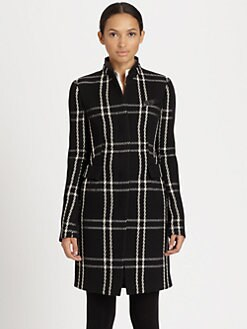 Akris Punto - Plaid Wool Coat
