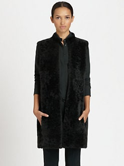 Akris Punto - Reversible Shearling Vest