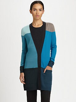 Akris Punto - Colorblock Wool Cardigan