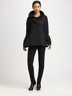 Akris Punto - Flared Hooded Parka