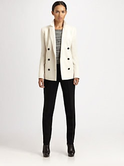 Akris Punto - Double-Breasted Wool Blazer