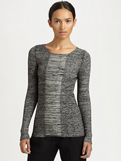 Akris Punto - Marled Ribbed Sweater