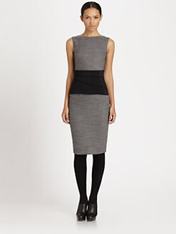Akris Punto - Tucked Waistband Dress
