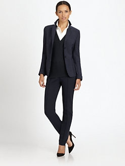 Akris Punto - Polka Dot Wool Blazer