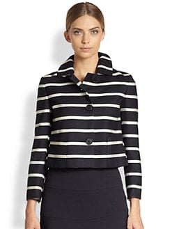 Akris Punto - Striped Wool Blazer